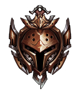 this image represents the bronze rank in league of legends