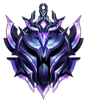 this image represents the diamond rank in league of legends