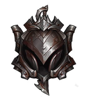 this image represents the iron rank in league of legends