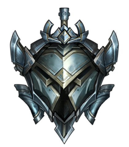 this image represents the silver rank in league of legends